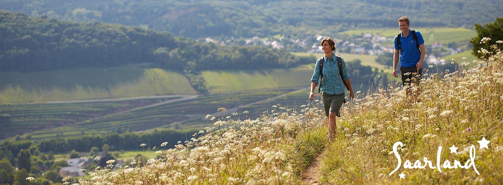 Wandern im Dreiländereck Frankreich Luxemburg Saarland
